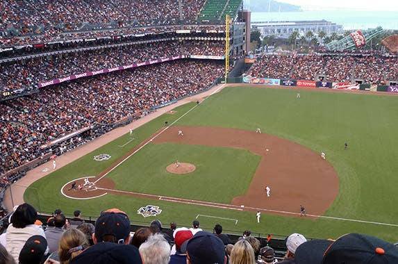 AT&T Park (San Francisco Giants) © Christopher Penler/Shutterstock.com