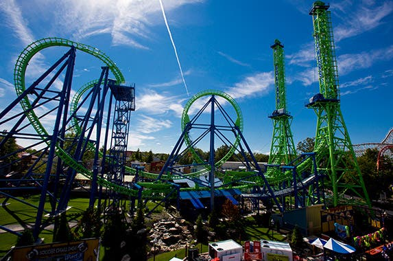 No. 10: Six Flags New England (Agawam, Massachusetts) Photo courtesy of Six Flags New England