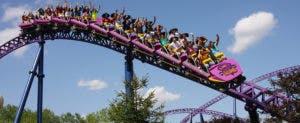 Bizzarro roller coaster | Photo courtesy of Canada's Wonderland