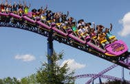 Bizzarro roller coaster | Photo courtesy of Canada's Wonderland