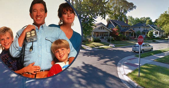 'Home Improvement' (1991-99) © ABC/Newscom