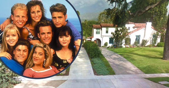 'Beverly Hills, 90210' (1990-2000) © Globe Photos/ZUMAPRESS.com