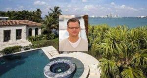 Matt Damon: © Featureflash/Shutterstock.com; House: Realtor.com