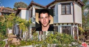 Nick Jonas: Allen Berezovsky/Getty Images; House: Redfin