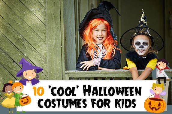 Popular Halloween costumes for kids © Pressmaster/Shutterstock.com