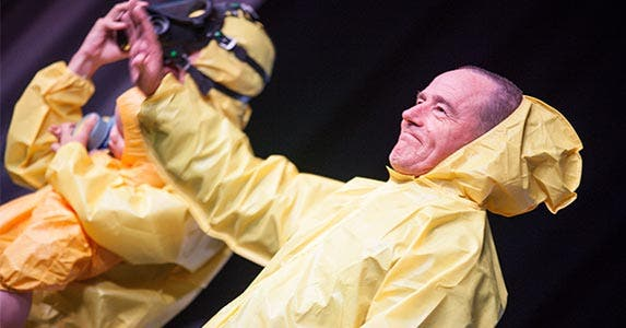 Diagnosed with cancer, Walt gets cooking | Chelsea Lauren/Getty Images