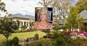 Paula Deen: © Nancy Kaszerman/ZUMA Press/Corbis; House: Realtor.com