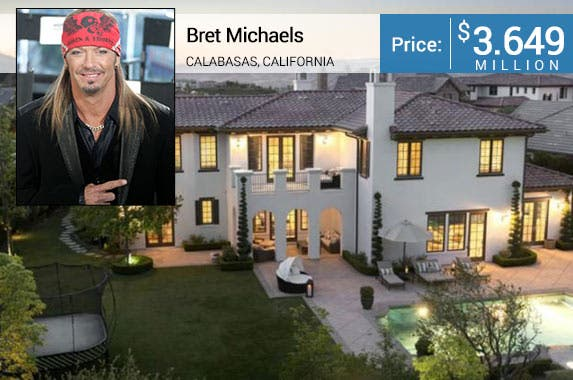 Bret Michaels' home is for sale