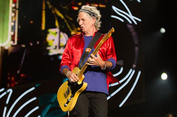 Keith Richards © Andrew Snook/Corbis