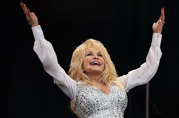 Dolly Parton © CATHAL MCNAUGHTON/Reuters/Corbis