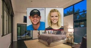 Andy Roddick and Brooklyn Decker © Corbis; House: Realtor.com