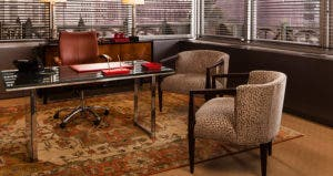 Replicas of furnitures from 'The Good Wife' | Photo credit: Robert Wright