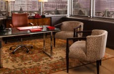 Replicas of furnitures from 'The Good Wife'   Photo credit: Robert Wright