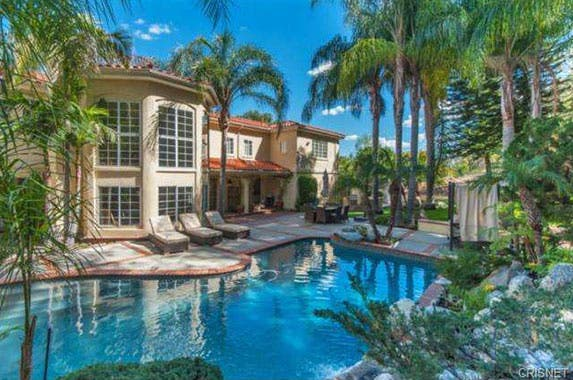 David Hasselhoff's house for sale
