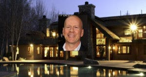 Bruce Willis © Nancy Kaszerman/ZUMA Press/Corbis; House: Realtor.com