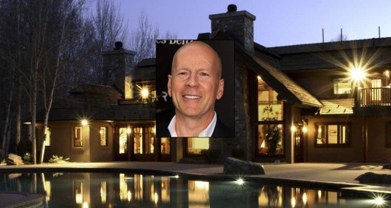 Bruce Willis' Idaho estate