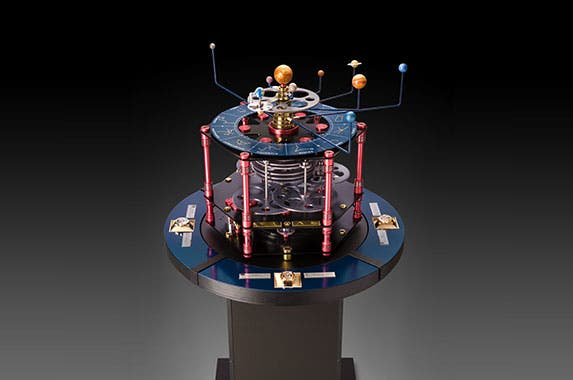 Louis Moinet Meteoris timepiece   Photo courtesy of Louis Moinet