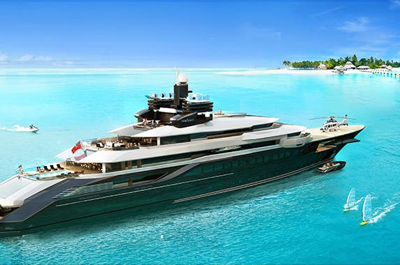 Private Oceanco superyacht | Photo courtesy of Oceanco