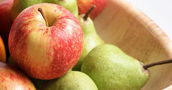 Apples and pears © iStock