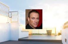 Jean-Claude Van Damme © Stephane Cardinale/People Avenue/Corbis; House: Realtor.com