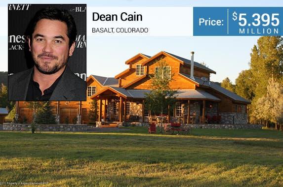 Dean Cain: © Byron Purvis/AdMedia/AdMedia/Corbis; House: Realtor.com