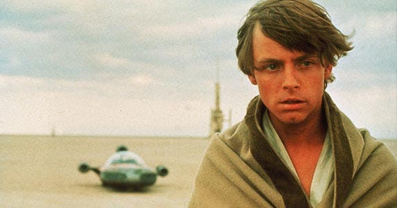 Luke Skywalker © Lucas Films/Entertainment Pictures/ZUMAPRESS.com