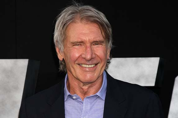 The top: Harrison Ford © Jenna Blake/Corbis