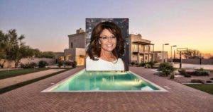 Sarah Palin:© Nancy Kaszerman/ZUMA Press/Corbis; House: Realtor.com