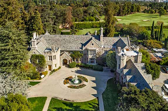 Playboy Mansion for sale at $200M | Gary Gold & Drew Fenton at Hilton & Hyland, Mauricio Umansky at The Agency; Photo credit: Jim Bartsch