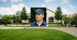 Jordan Spieth: Suhaimi Abdullah/Getty Images; House: Redfin