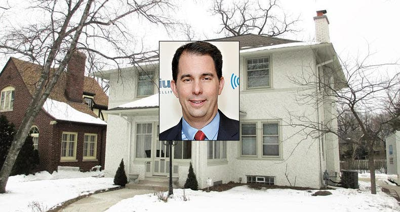 Celebrity House Sold Gov Scott Walker Bankratecom