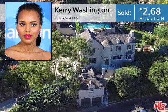 Kerry Washington House Pictures - Celebrity Homes