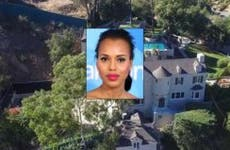 Kerry Washington | JB Lacroix/WireImage/Getty Images; House: Redfin