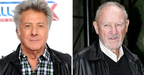 Dustin Hoffman: © PHIL McCARTEN/Reuters/Corbis; Gene Hackman: Sharkpixs/ZumaPress
