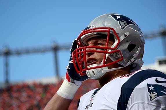 Rob Gronkowski | Doug Pensinger/Getty Images Sport/Getty Images