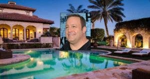 Kevin James | Grant Lamos IV/Getty Images; House: Realtor.com