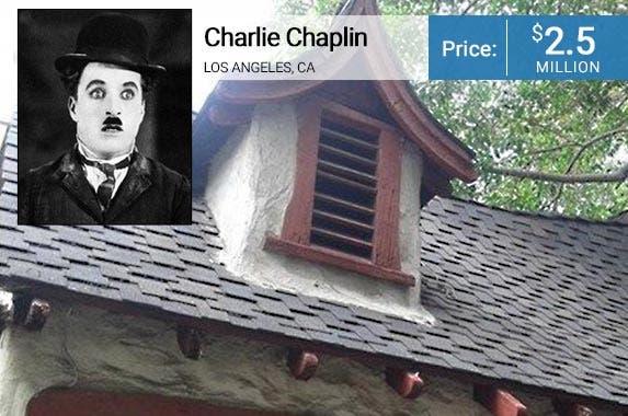 Charlie Chaplin: © Corbis; House: Realtor.com