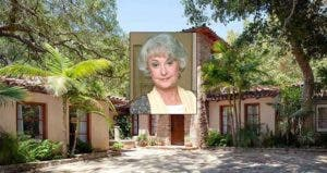 Bea Arthur | ABC Photo Archives/ABC Television Group/Getty Images; House: Redfin
