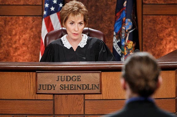 Actor's pay vs. real pay: Judge Judy | CBS Photo Archive/Getty Images