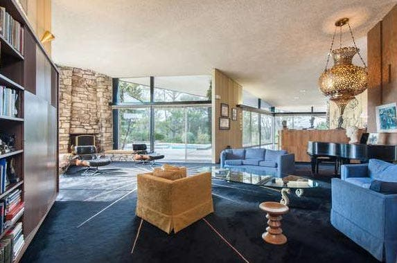 Charlton Heston's LA estate sold | Redfin