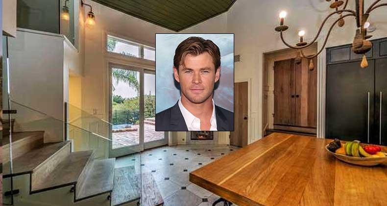Celebrity House Sold Thor Star Chris Hemsworth
