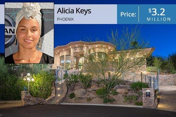 celebrity house for sale grammy award winner alicia keys. Black Bedroom Furniture Sets. Home Design Ideas