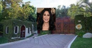 Cher's old home is for sale | Cher: Dimitrios Kambouris/Getty Images; House: Realtor.com