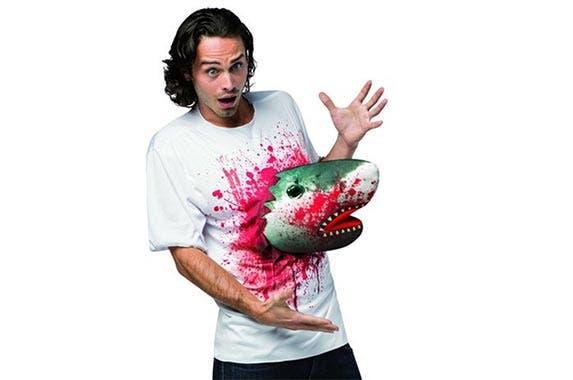 Scary 3D shark T-shirt   Courtesy of Amazon