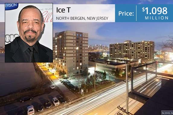 Ice T | Alberto E. Rodriguez/Getty Images; House: Realtor.com