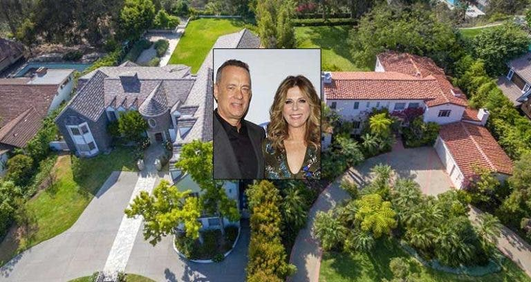 Celebrity House for Sale: Tom Hanks And Rita Wilson Selling Side-By