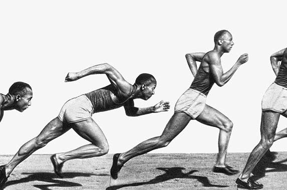 Jesse Owens | Underwood Archives/Getty Images