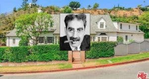Groucho Marx | John Kobal Foundation/Getty Images; House: Realtor.com