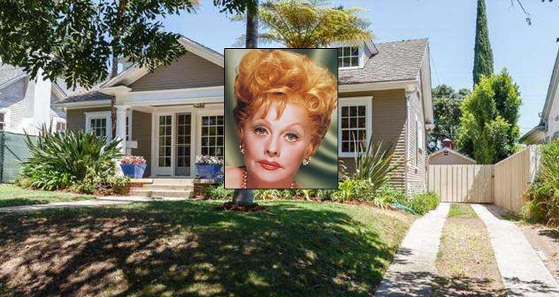 Buying A Home With Bad Credit >> Celebrity House For Sale: Lucille Ball | Bankrate.com