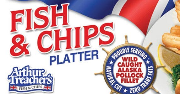 Arthur Treacher's Fish & Chips | Courtesy of Arthur Treacher's Fish & Chips